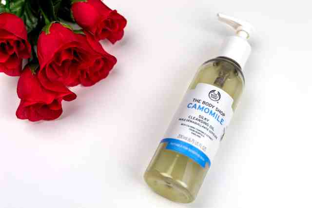 camomile oil cleanser the body shop