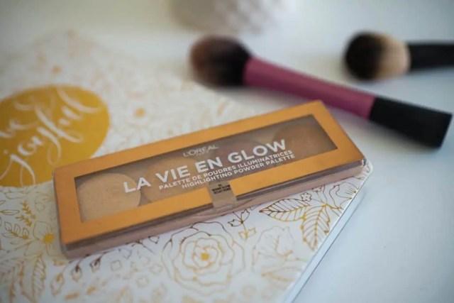 no makeup makeup loreal, highlighting pallette
