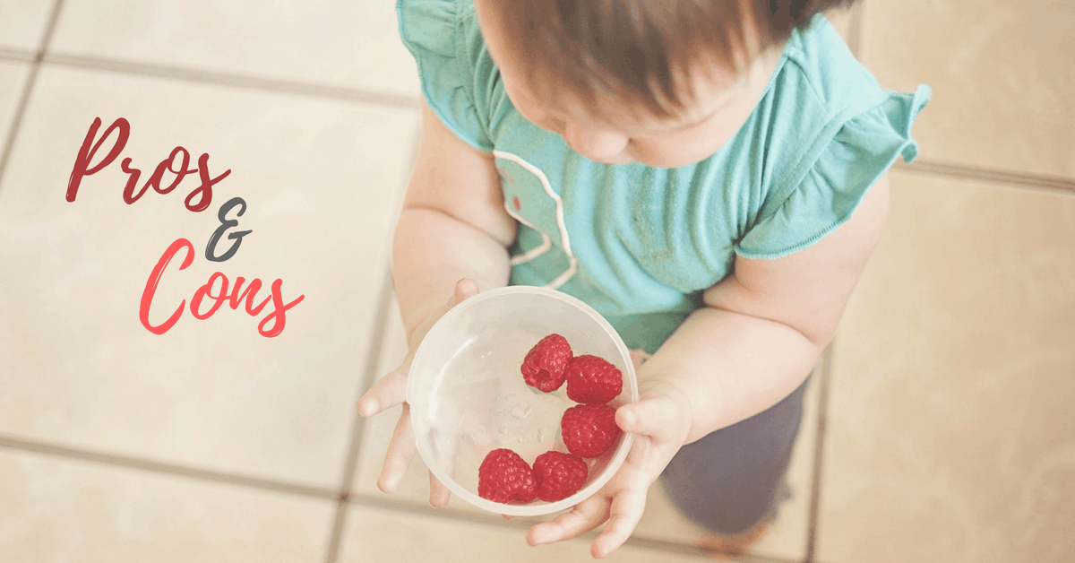 10 Benefits of Baby Led Weaning   Pros & Cons of BLW