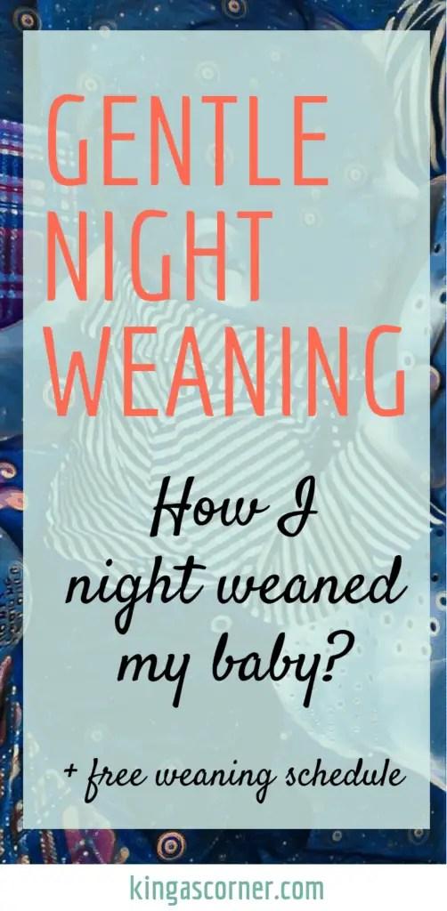 gentle night weaning