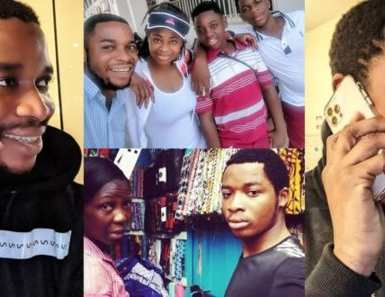 Twene Jonas and family photo