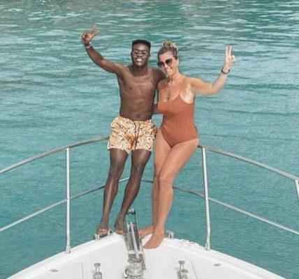 Emmanuel Gyasi and Sassy Girlfriend