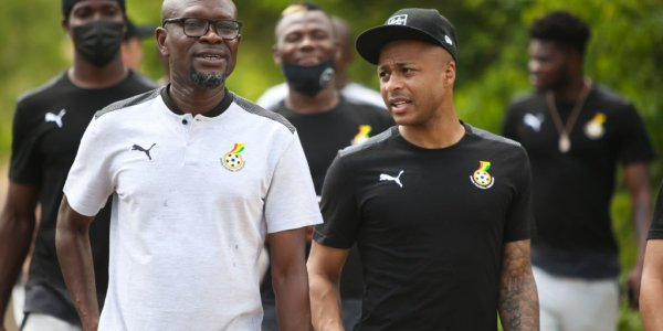 CK Akonnor and Andre Ayew