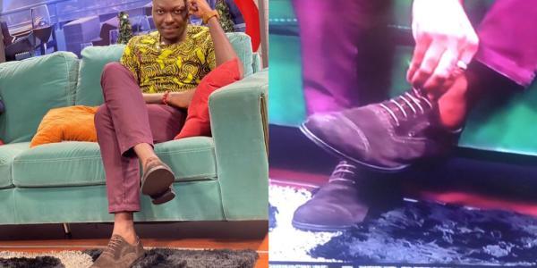 Arnold Asamoah Baidoo shoe