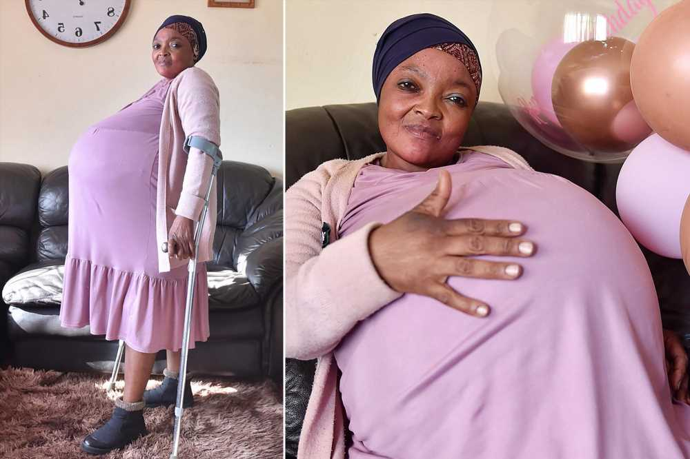 woman gives bith to 10 babies