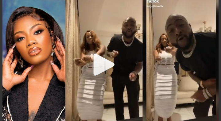 BBNaija's Angel Spotted With Davido As They Vibe To His Song Together