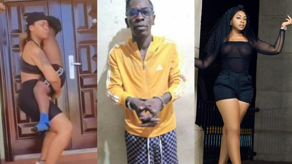 I Am Busy Feeding My Son – Shatta Michy Replies Troll Who Asked Her To Go And Look After Shatta Wale In Prison