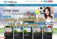 hướng dẫn cách tạo tài khoản cá độ bóng đá W88