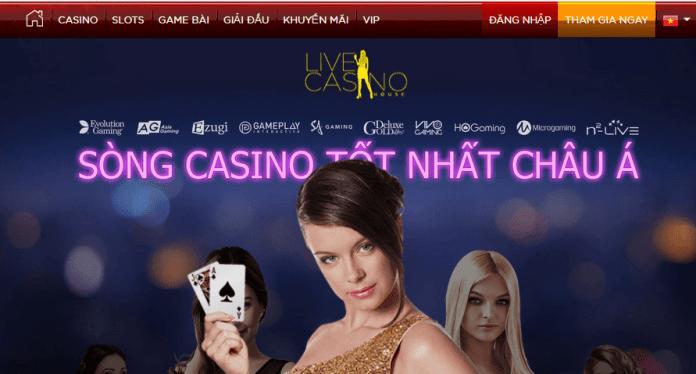 chơi cò quay roulette ăn tiền thật tại live casino house