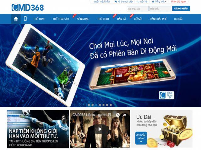 link vào cmd368.com