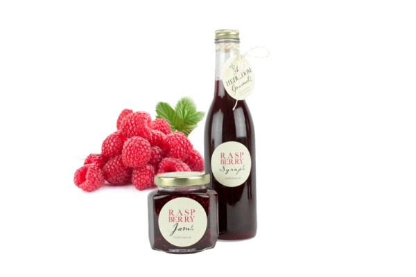 Raspberry Jam and Syrup
