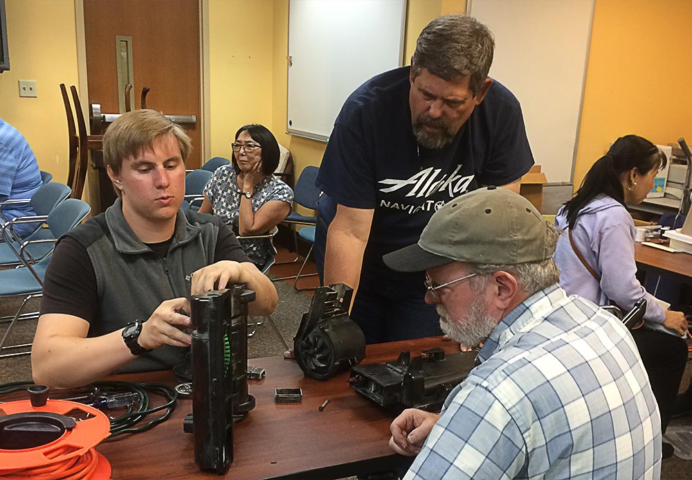 Bellevue Repair Fair Where People Can Bring Various Items And Help Each Other Fix Them From