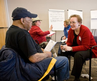 The Metro Transit Advisory Commission – Metro customers appointed by the King County Council to advise Metro on your behalf. Half of us represent districts and half of us represent customers with disabilities.
