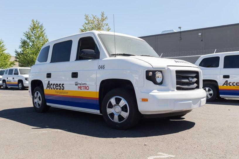 Metro Access minivan