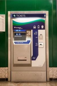 ORCA Transit Vending Machine (TVM)