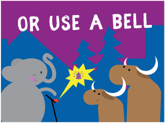 KC Trail Safety - Use a bell