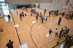 Boys and Girls Club indoor court