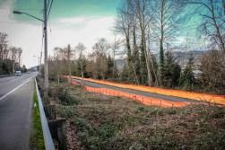 ELST Construction trail length