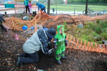 Next generation's stewards learn about planting
