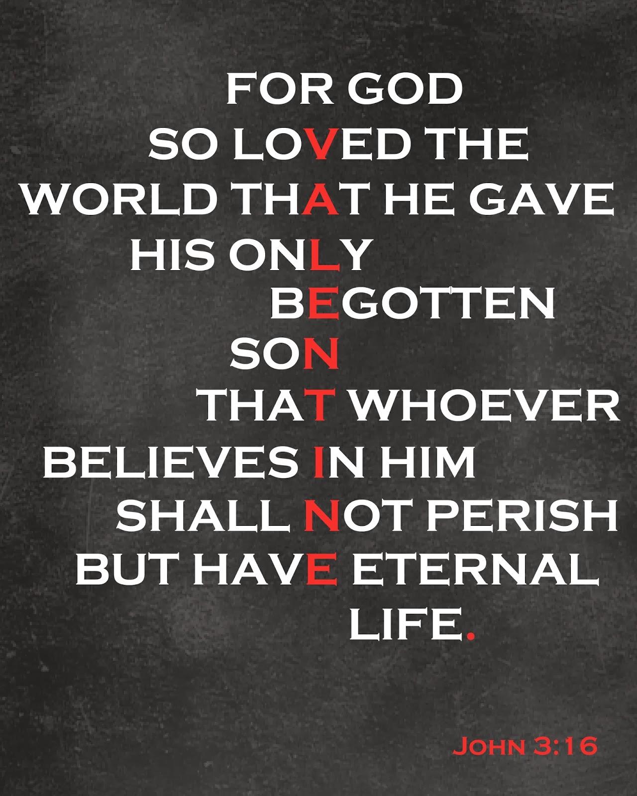 Valentine John 3 16