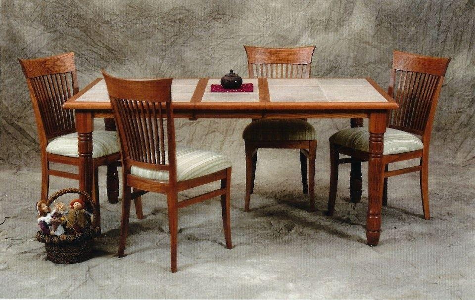 cutom tile top kitchen tables ny nj pa king dinettes rh kingdinettes com Tile Top Tables and Chairs Tile Top Kitchen Table Sets