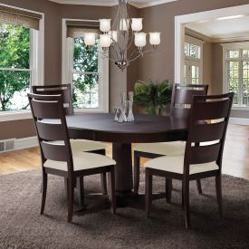 Flat Foot Round Dining Set