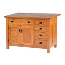 Brookline Mission 5 Drawer Island