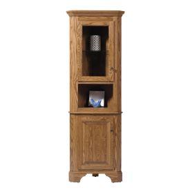 Americana Small Corner Cabinet