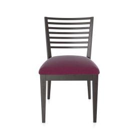 Low Horizontal Slat Chair
