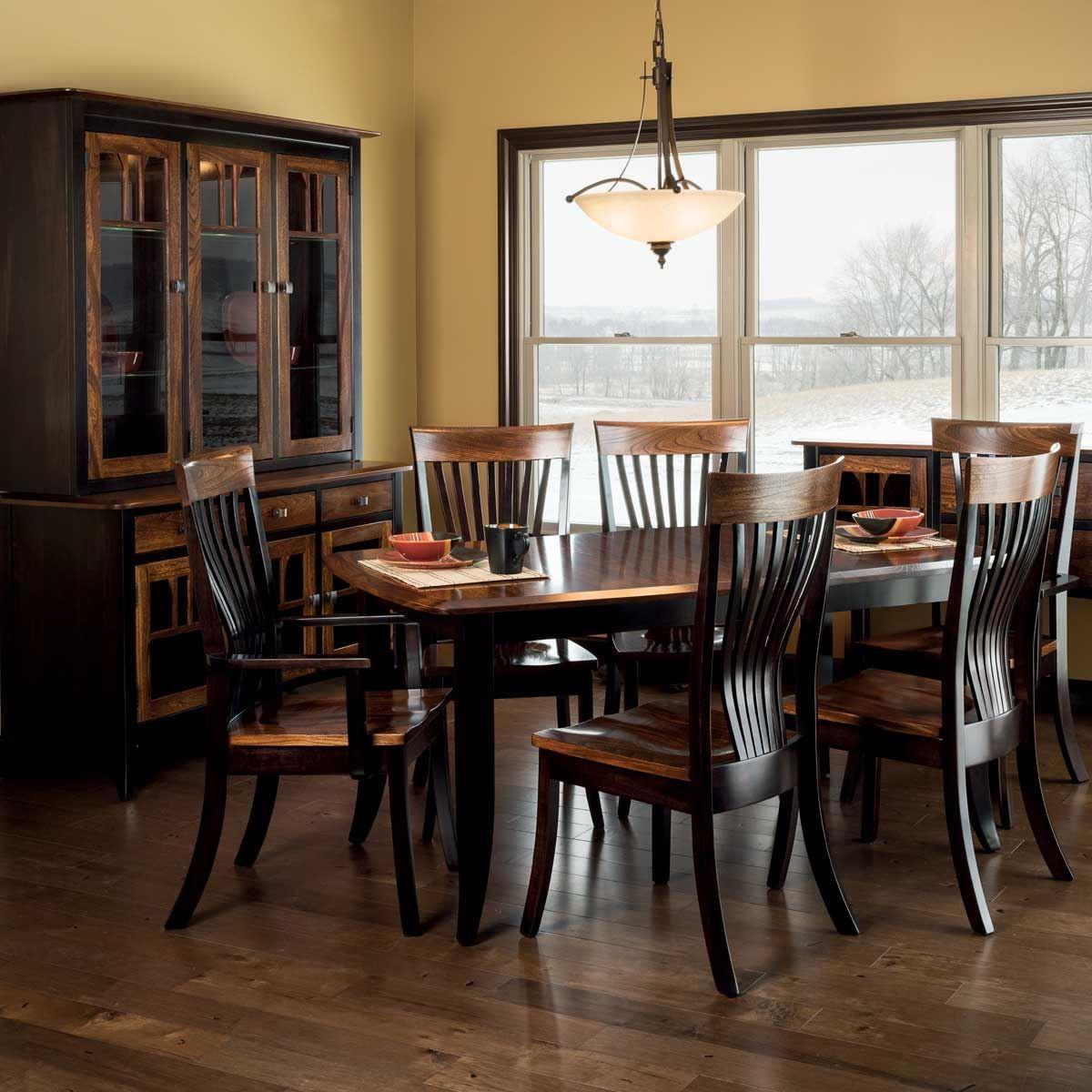 Solid Elm Furniture King Dinettes