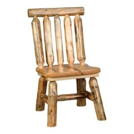 Rustic Log Dining Chairs