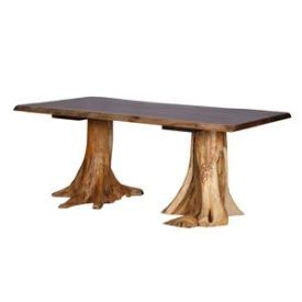 Rustic Log Dining Tables