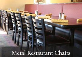 Metal Restaurant Chairs (29)