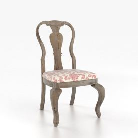 Rustic Queen Anne Side Chair