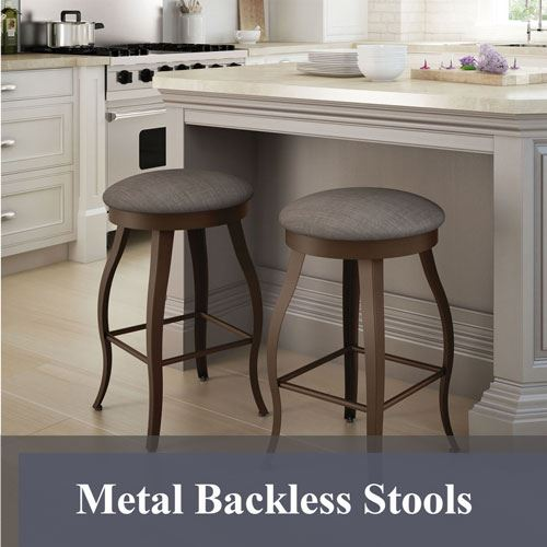Metal Backless Stools