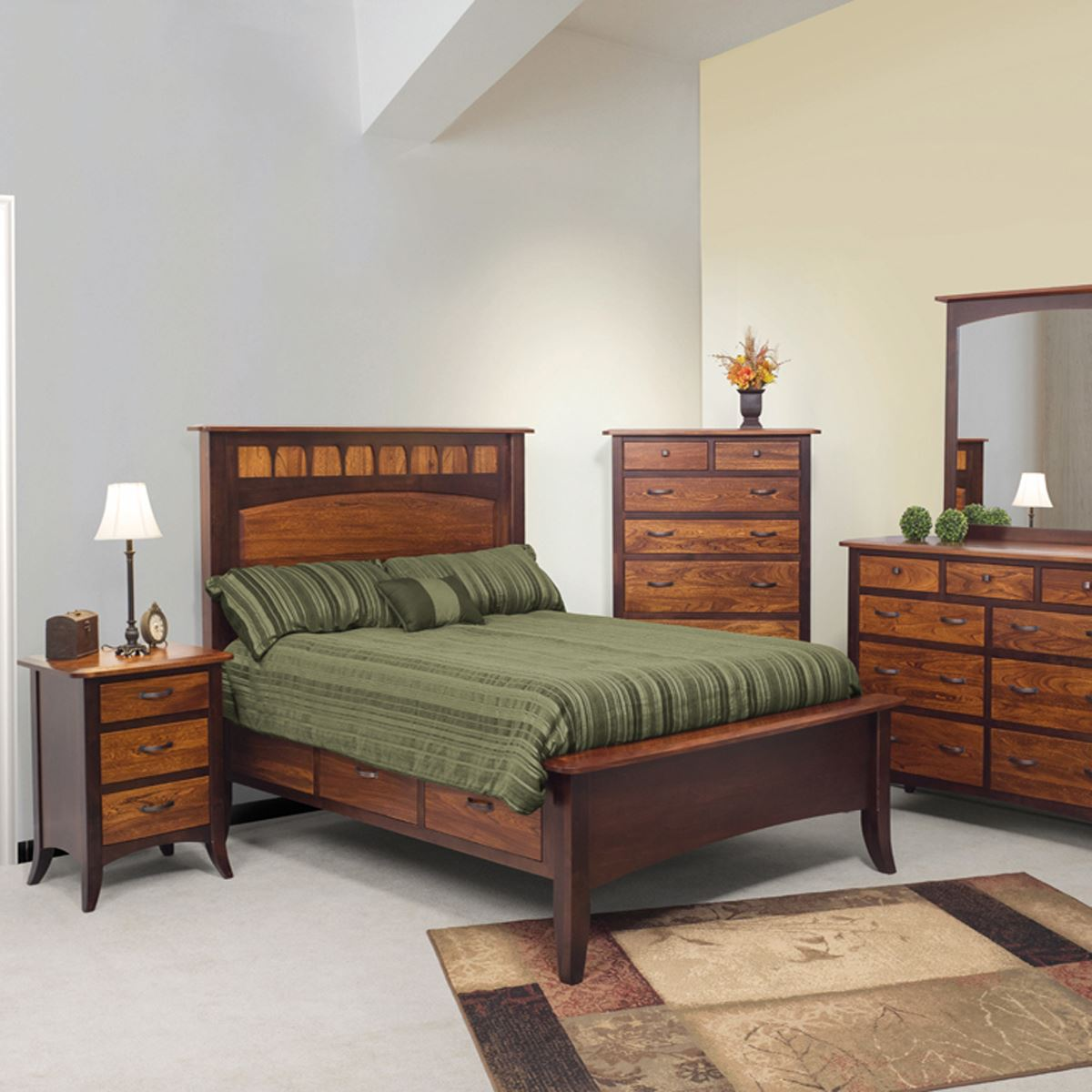 liberty bedroom set - king dinettes | custom dining furniture