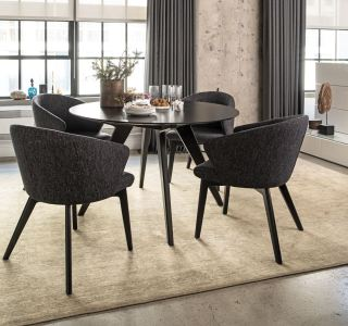 Downtown Round Dining Set