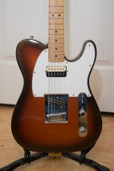 New pickups and pick guard for a telecaster