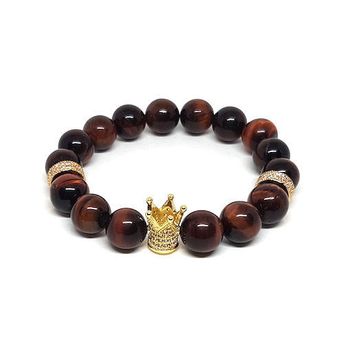 The Crown Collection - Tiger's Eye Red