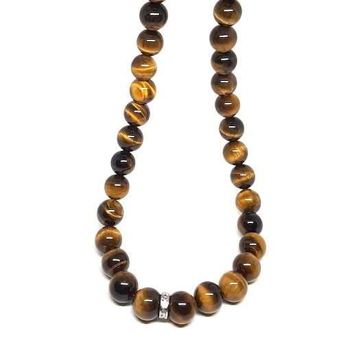 King CG Collection - Tiger Eye Necklace