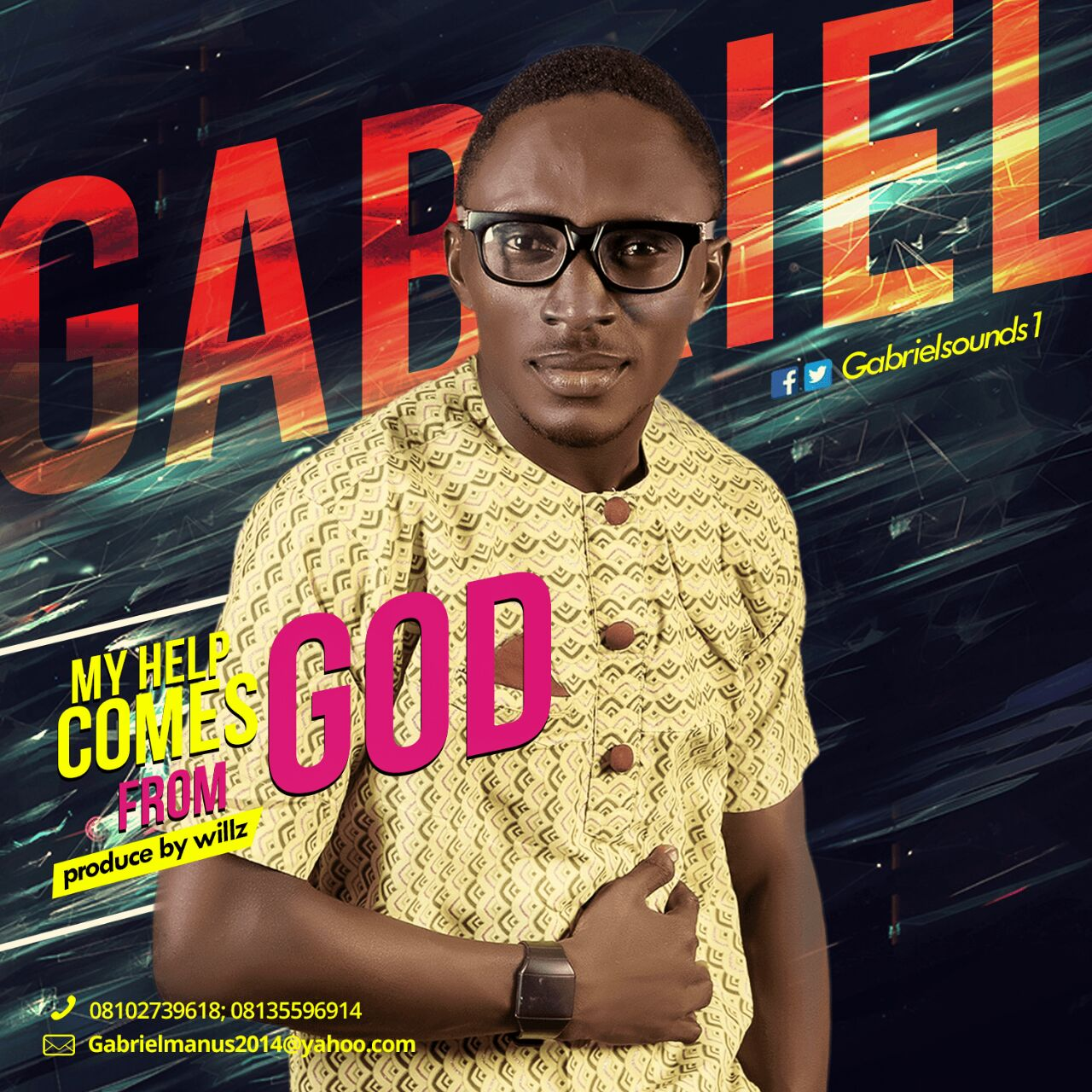 DOWNLOAD Music: Gabriel – My Help Comes From God