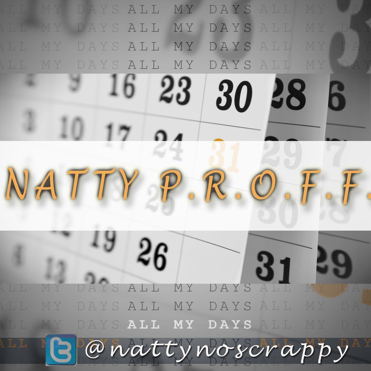 DOWNLOAD Music: Natty Proff – All My Days