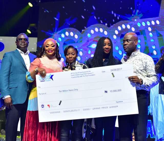 God's Children Great Talent: Esther Benyeoglo Crowned Winner Of Season 7
