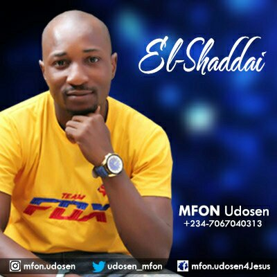 "Mfon Udosen Releases Two Singles ""Sosongo"" & ""El-Shaddai"""