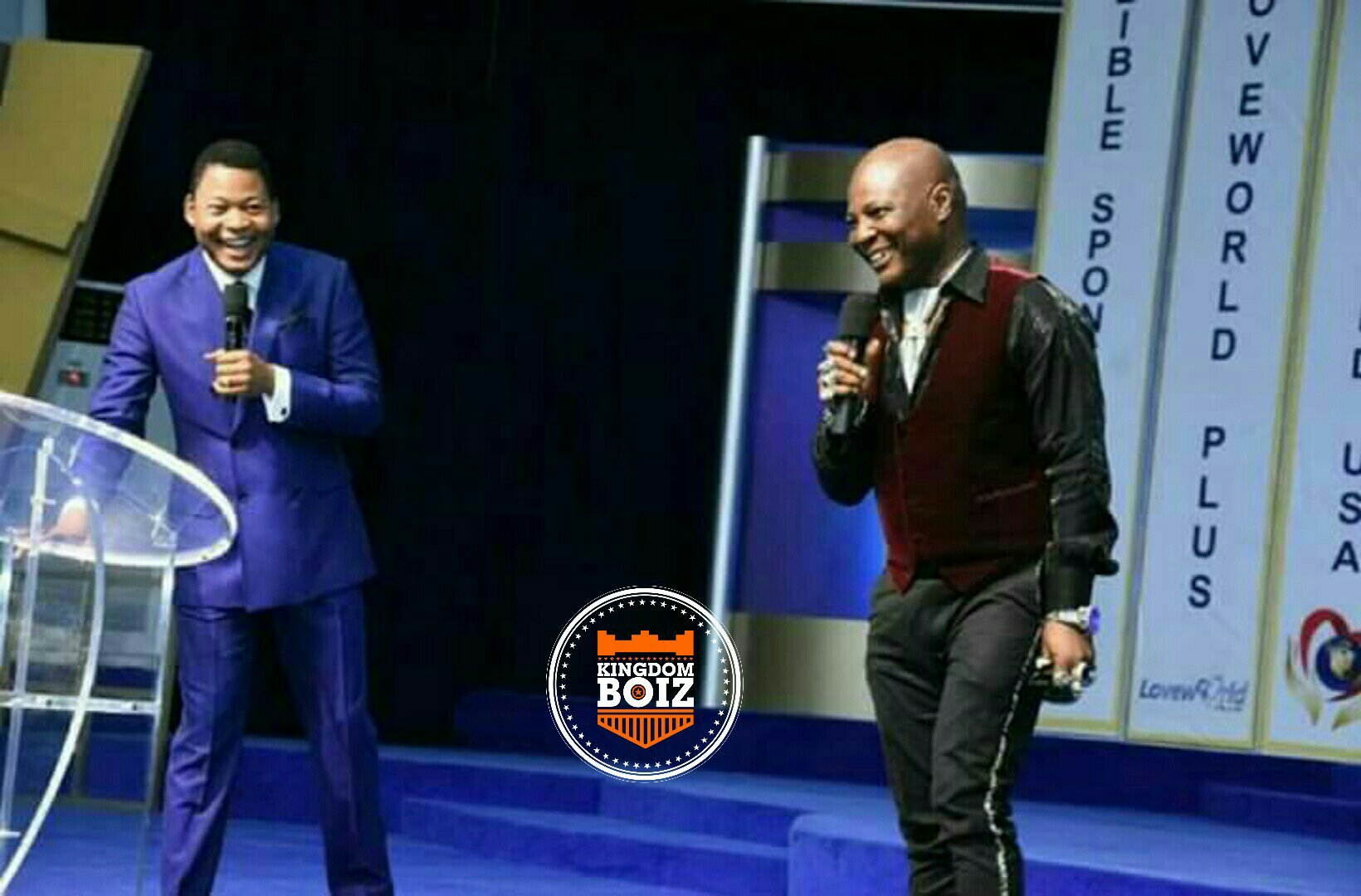 Charley Boy Testifies Of His Salvation At Christ Embassy Abuja Today (Photos)