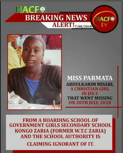 READ: Christian Girl Kidnapped And Forced To Convert To Islam, Regains Freedom
