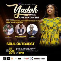 "Yadah Sets for her Live Recording Concert tagged ""Soul Outburst"""