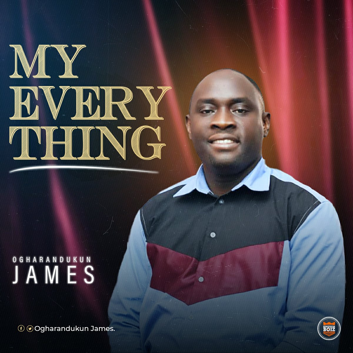DOWNLOAD Music: Ojames – My Everything