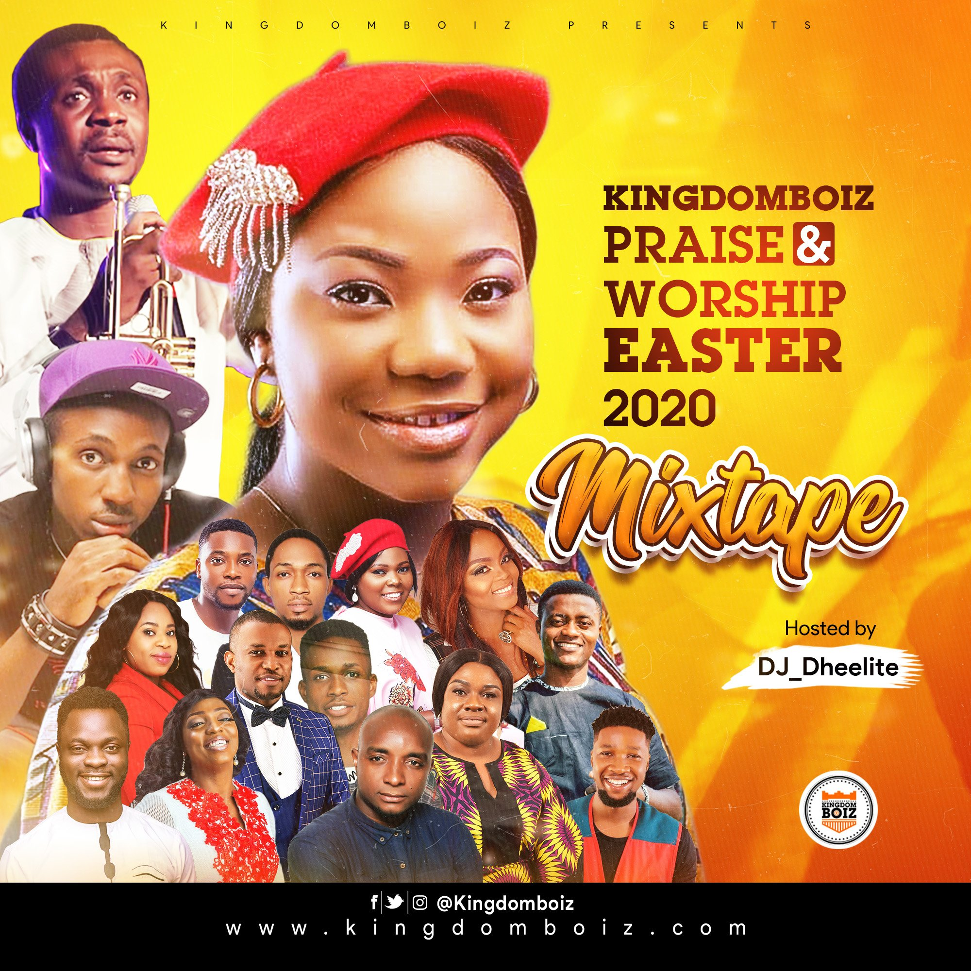 Kingdomboiz Praise & Worship Easter 2020 Mixtape