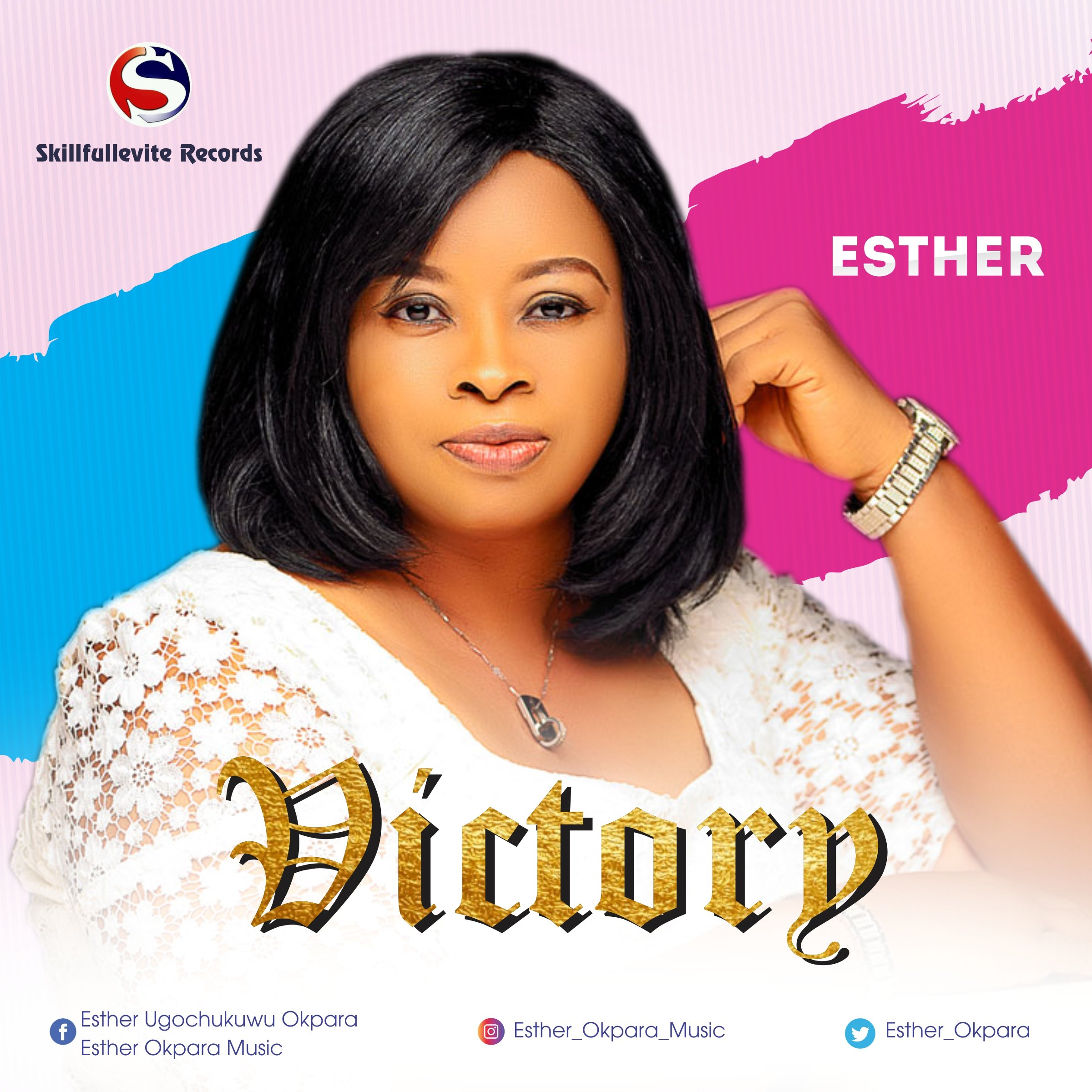"""Esther Releases New Album Of 10 Tracks For Free Download """"Victory"""""""